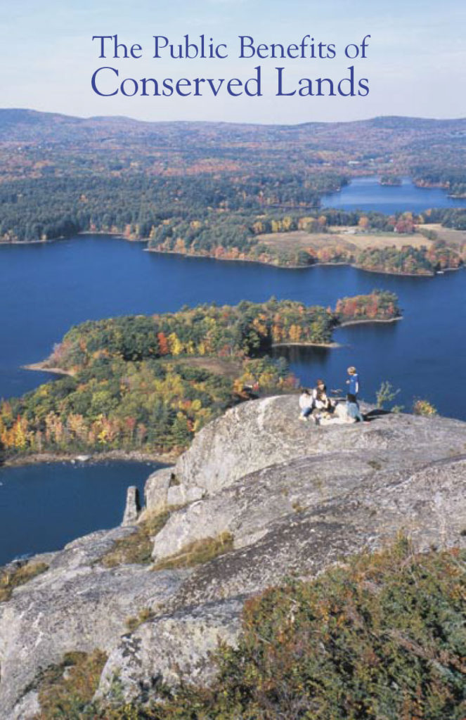 The Public Benefits of Conserved Lands