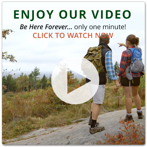 "Enjoy our video, ""Be Here Forever,"" only one minute!"